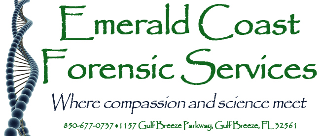 Emerald Coast Forensic Services logo