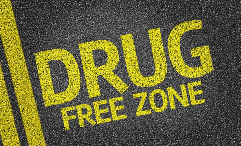 drug free work zone