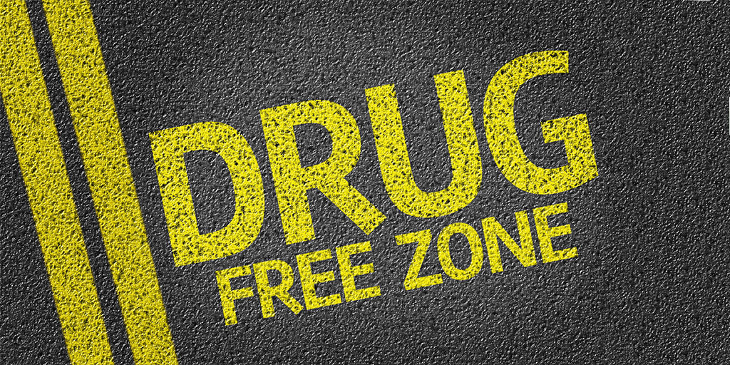 drug free work zone