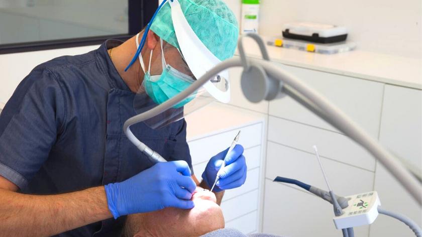 Pensacola Dentist Respirator Fit