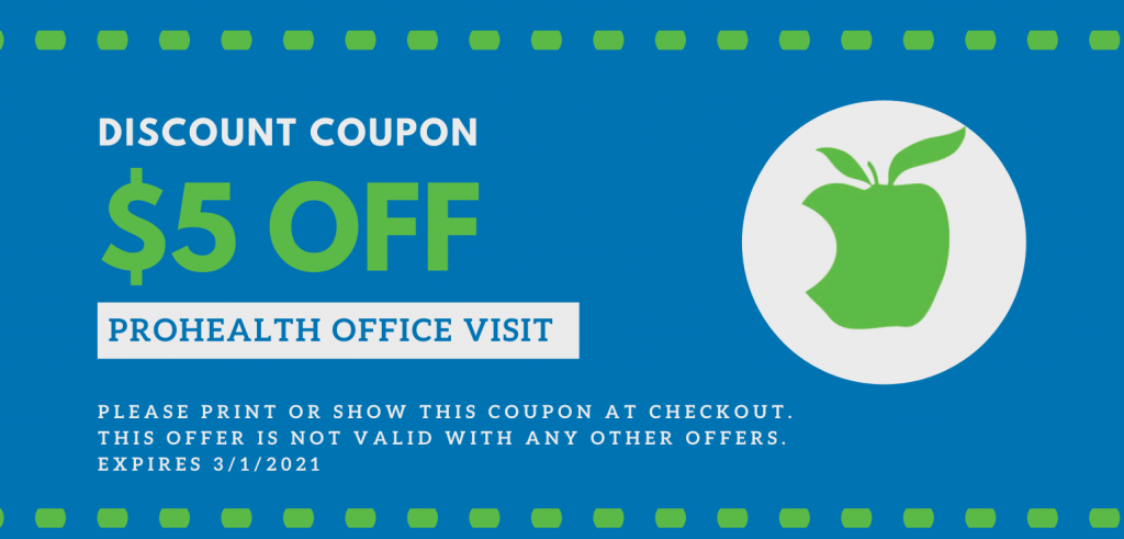 ProHealth $5 OFF Office Visit